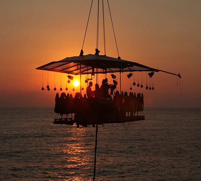 Dinner in the Sky Feature Adventure Trip Tourism