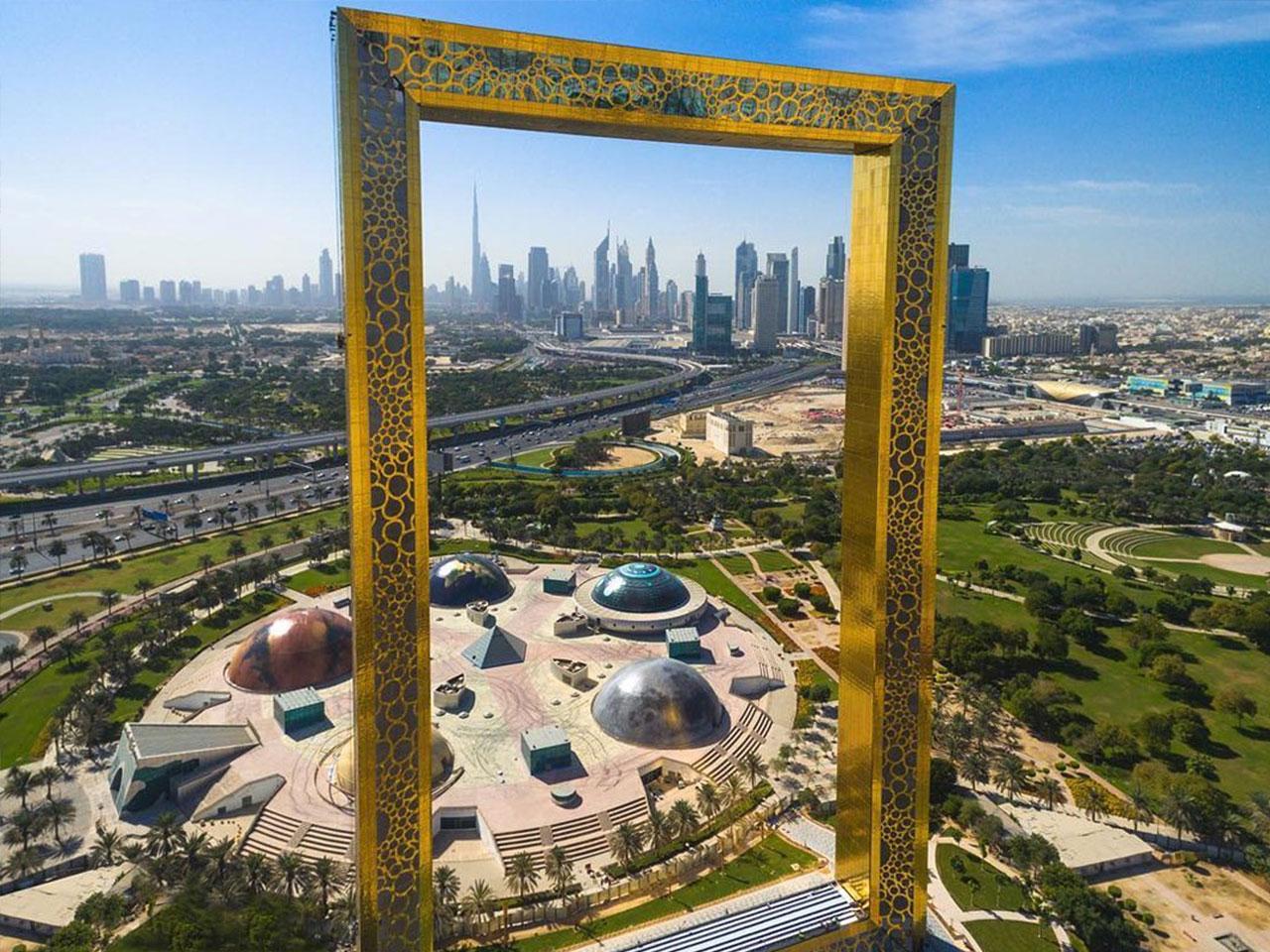 Dubai Frame Gallery 1 - Adventure Trip Tourism