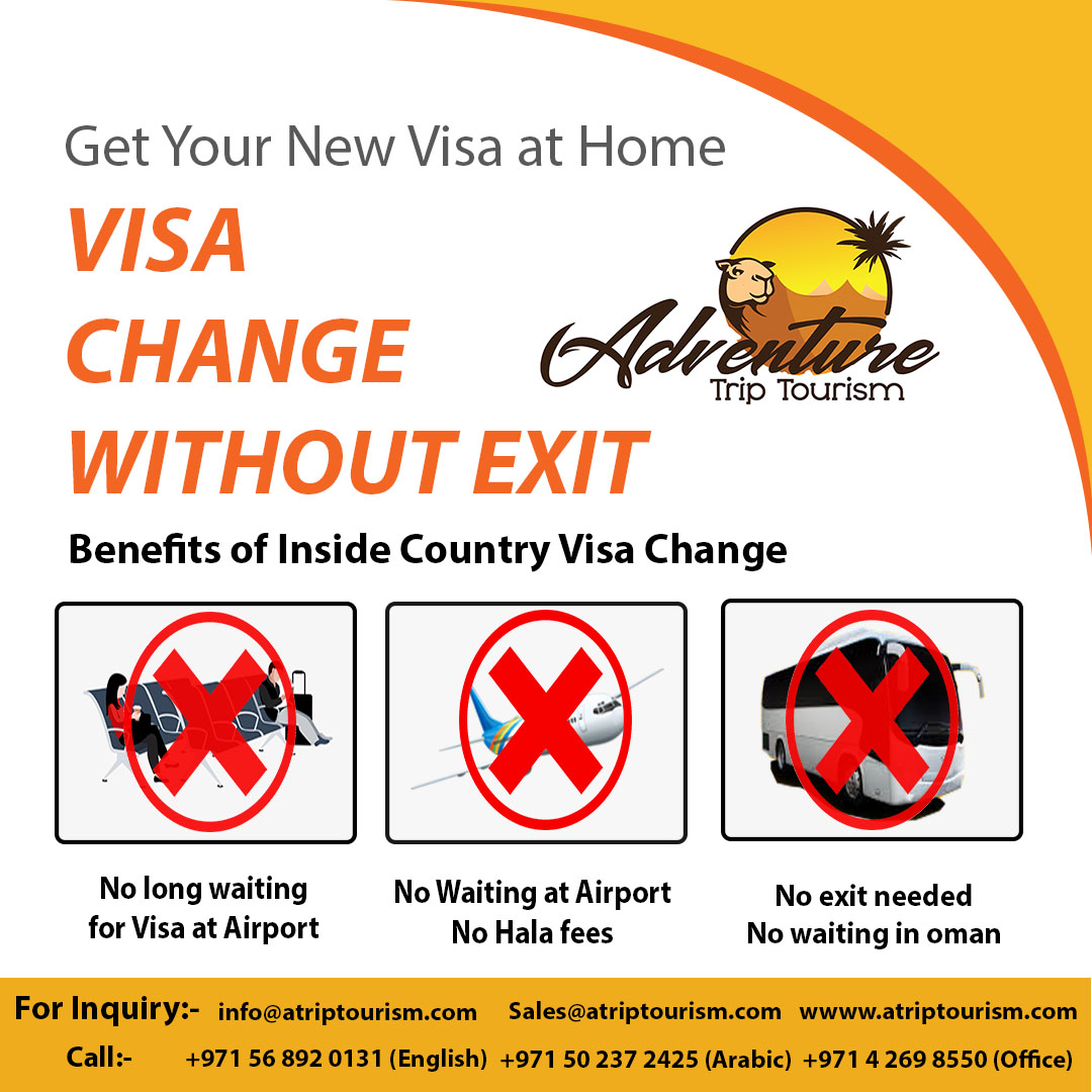 Inside Country Visa Change